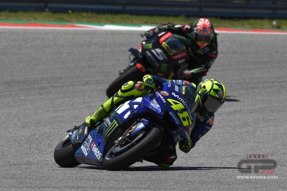 MotoGP: Rossi: deluso di non avere lottato per il podio