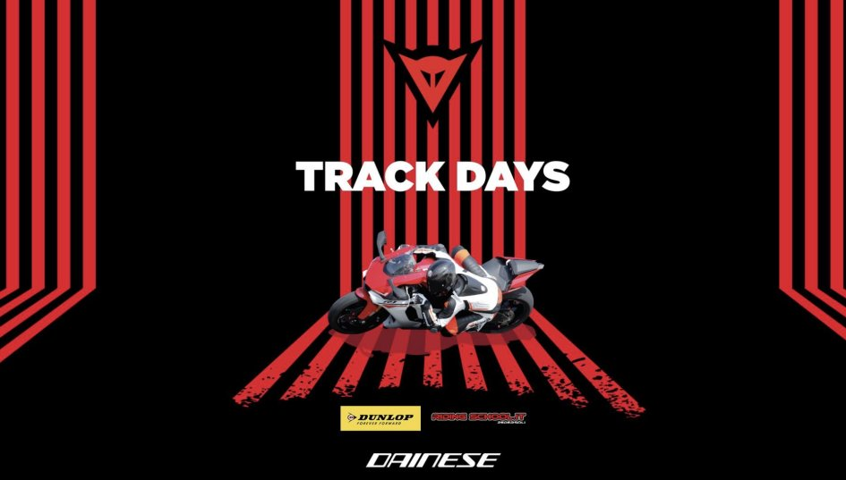 News Prodotto: Tornano i Track Days Dainese & AGV