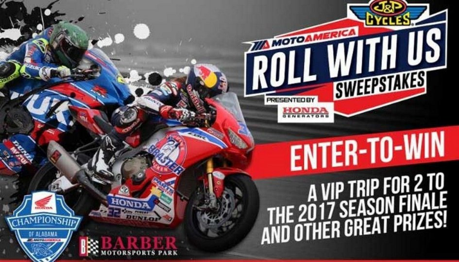 SBK: With MotoAmerica win a weekend at Barber Motosport Park