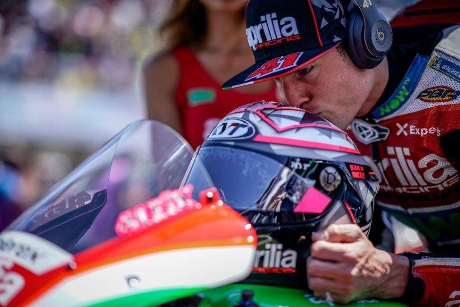 MotoGP: A. Espargarò: Aprilia more competitive after the Mugello test