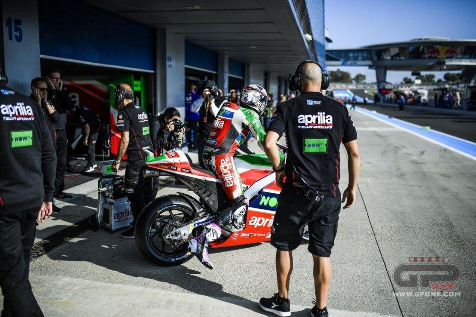 """MotoGP: """"Squadra satellite per Aprilia? meglio rafforzare il Test Team"""""""