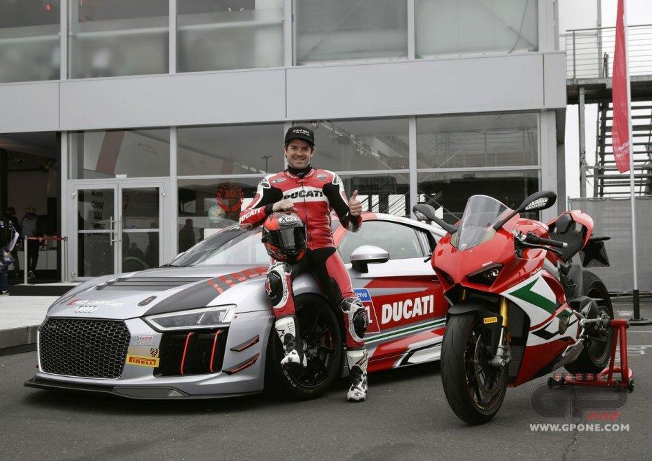 MotoGP: Checa torna in pista nella Coppa LMS Audi Sport R8