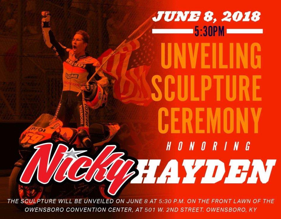 MotoGP: Owensboro pays tribute to Nicky Hayden