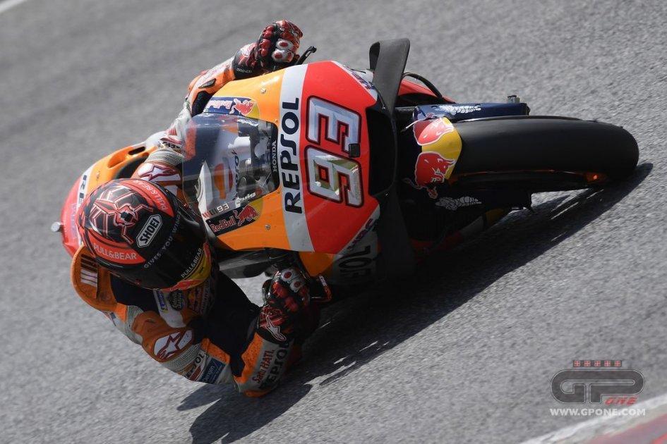 MotoGP: La pioggia ferma i test al Mugello. Marquez il più veloce