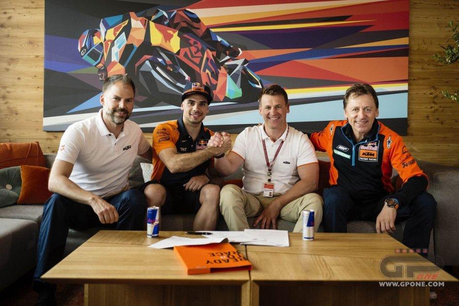 MotoGP: Oliveira debutta in MotoGP con KTM e Tech3