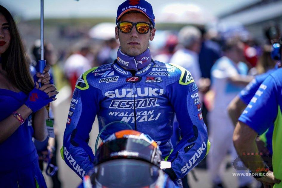 MotoGP: Alex Rins and Suzuki together until 2020