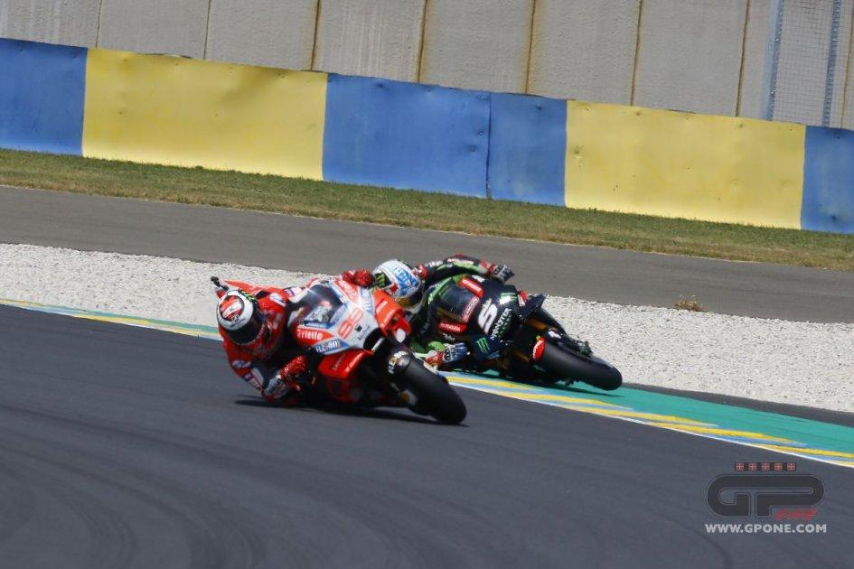 MotoGP: The crash of Johann Zarco in the GP of France