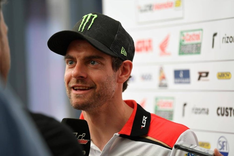 """MotoGP: Crutchlow: """"In pole position with a risky strategy"""""""
