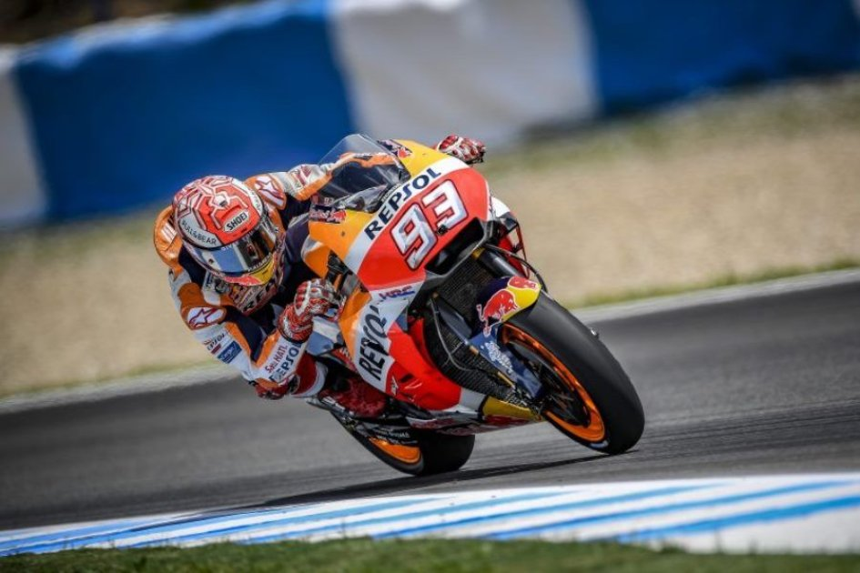 MotoGP: Marquez inarrestabile a Jerez, frittata Ducati, 3° Iannone