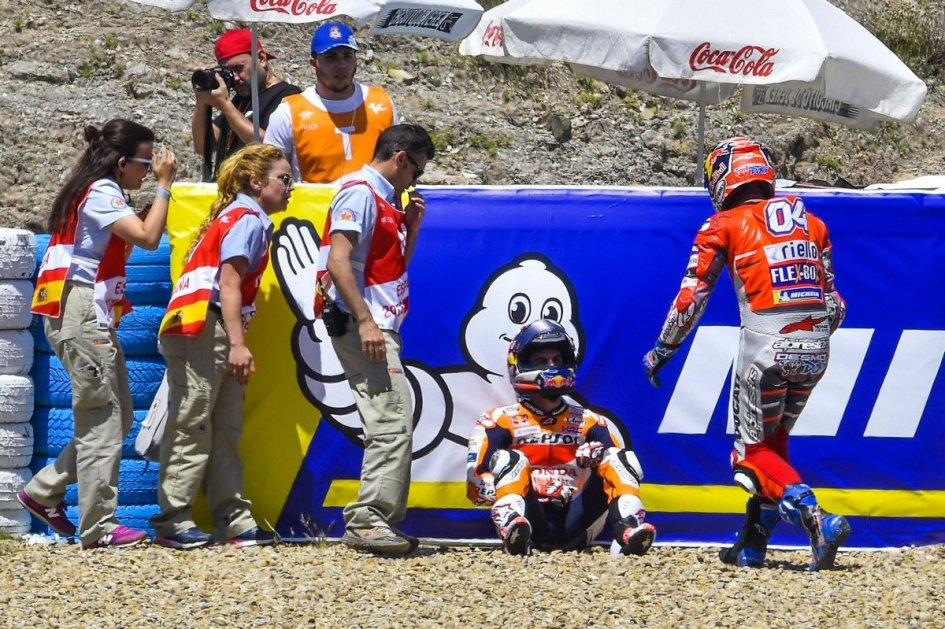 MotoGP: Pedrosa: I have no complaint with Lorenzo, but Race Direction is wrong