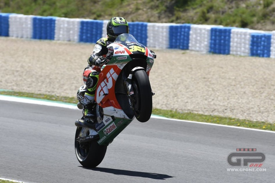 MotoGP: Crutchlow ha l'OK dei medici: in pista già nel warm up