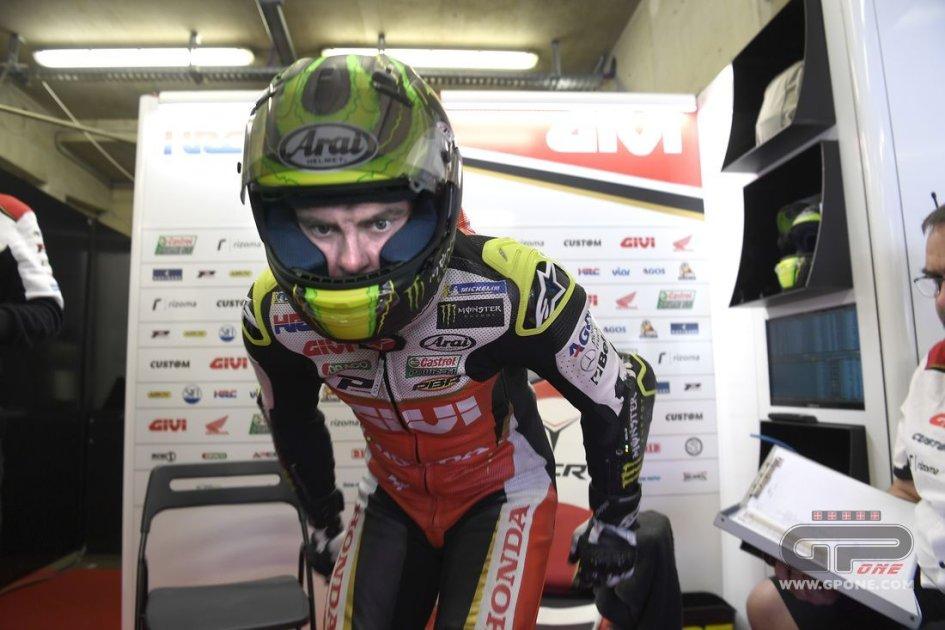 MotoGP: Nessuna frattura per Crutchlow ma la gara è in forse