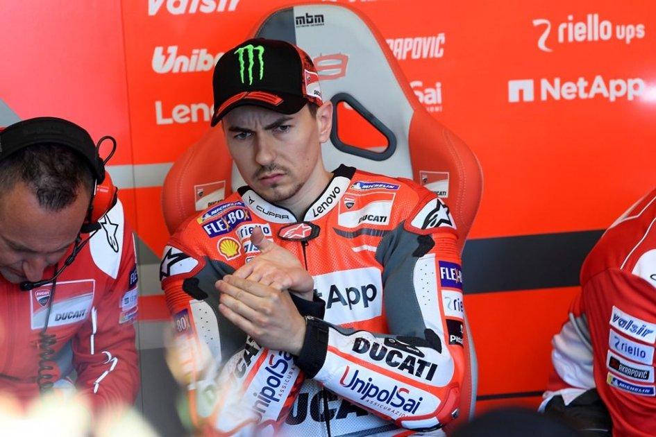 """MotoGP: Lorenzo: """"Non riesco a guidare con la mente fredda"""""""