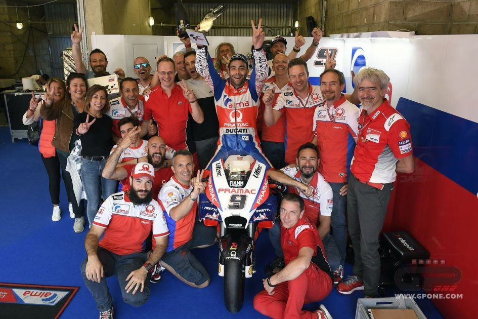 MotoGP: Petrucci: me the favourite for Ducati? because I cost less