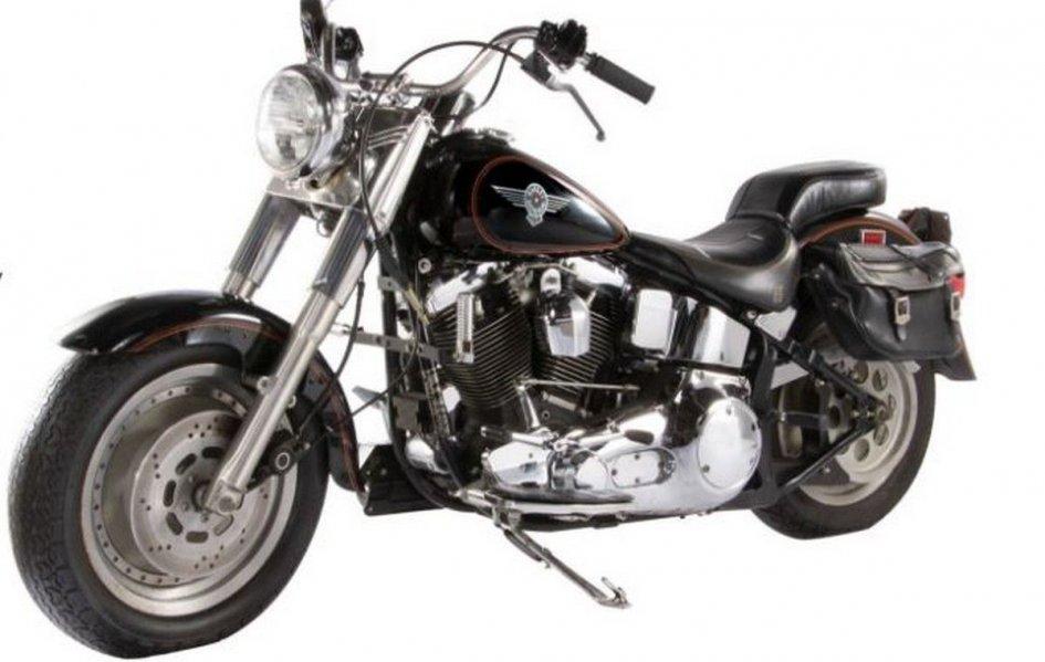 News Prodotto: Schwarzenegger's Harley Davidson up for auction