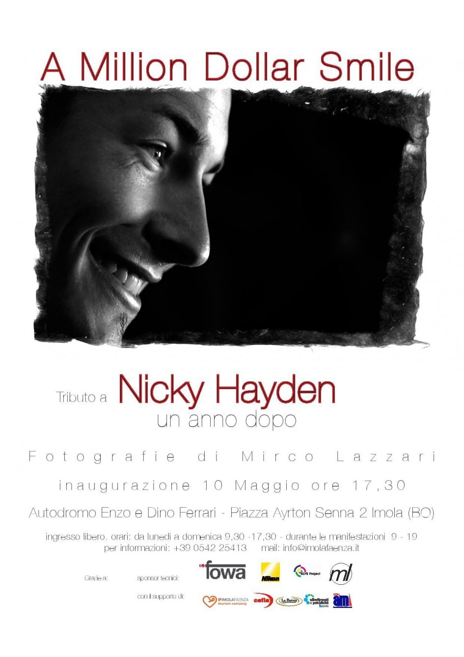SBK: Imola: an exhibition in memory of Nicky Hayden