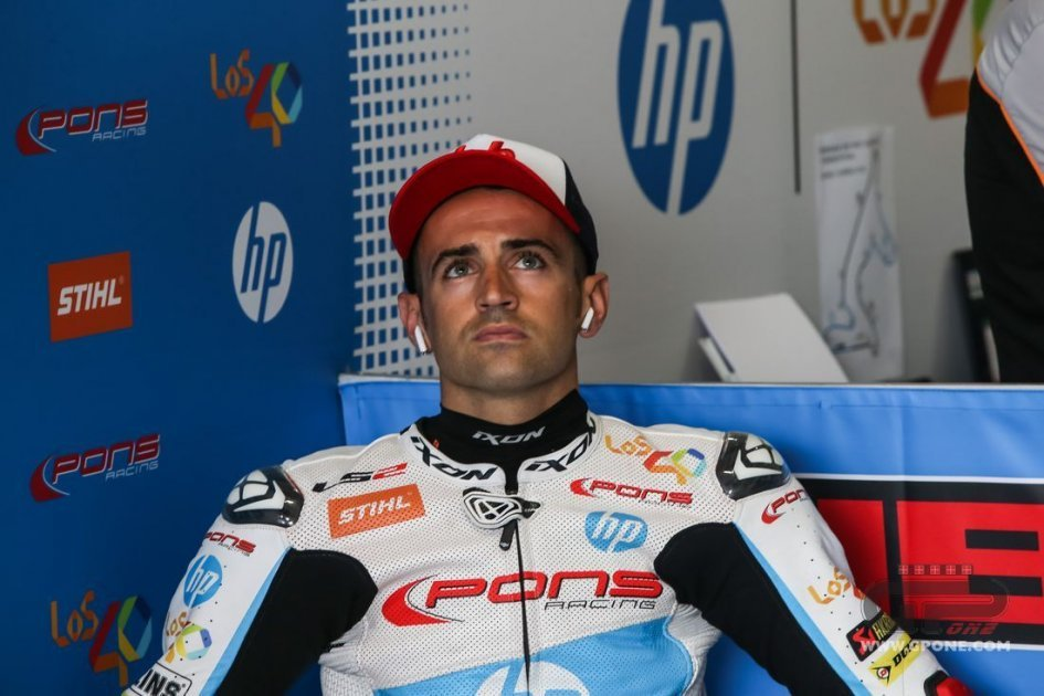 Moto2: Team Pons cancels its contract with Hector Barbera