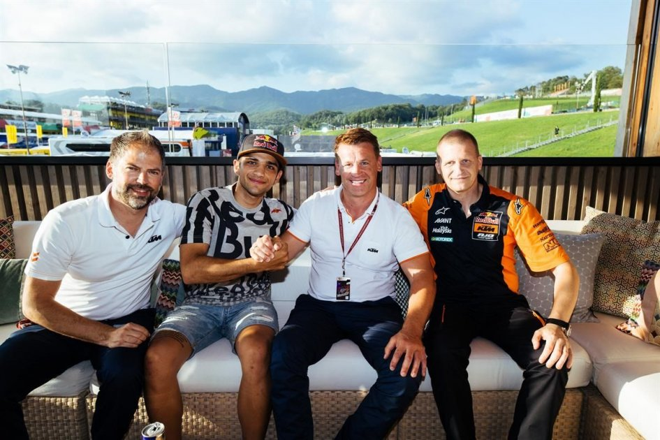 Moto2: Jorge Martin with KTM for the next two years