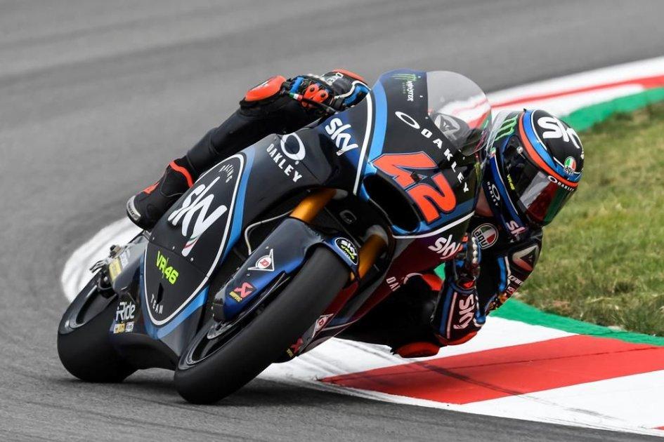 Moto2: Bagnaia risponde a Marquez, 1° nella FP3, 4° Fenati