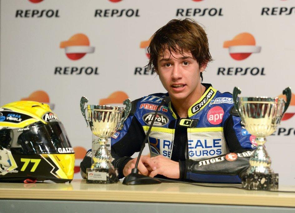Moto3: CEV: Andreas Perez non ce l'ha fatta