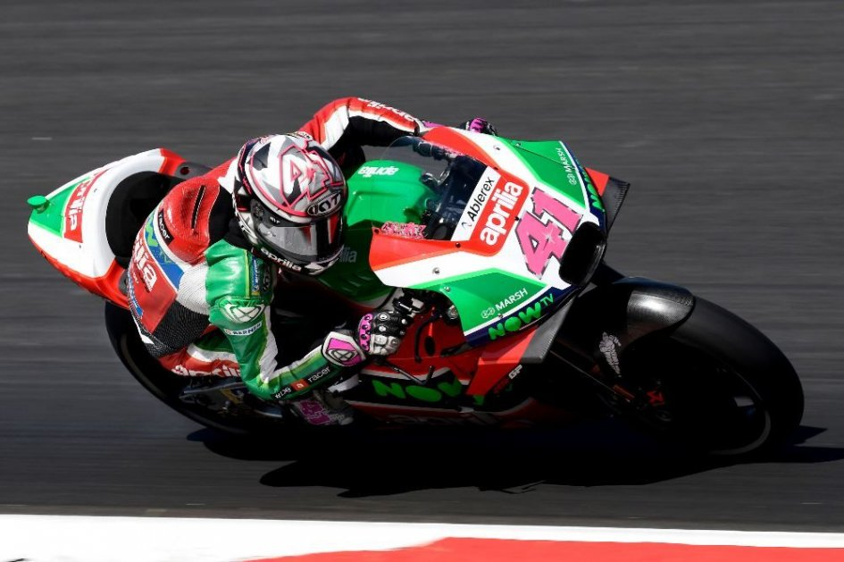 MotoGP: A. Espargarò: io e Aprilia meritiamo una buona gara ad Assen