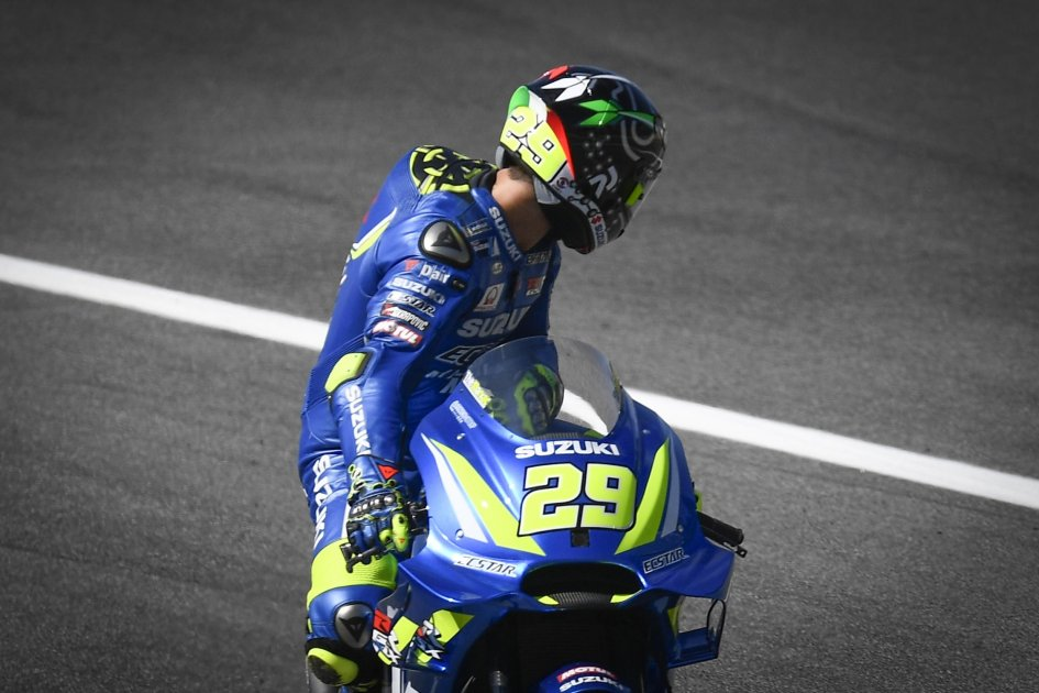 MotoGP: Iannone: non essere in prima fila dà fastidio