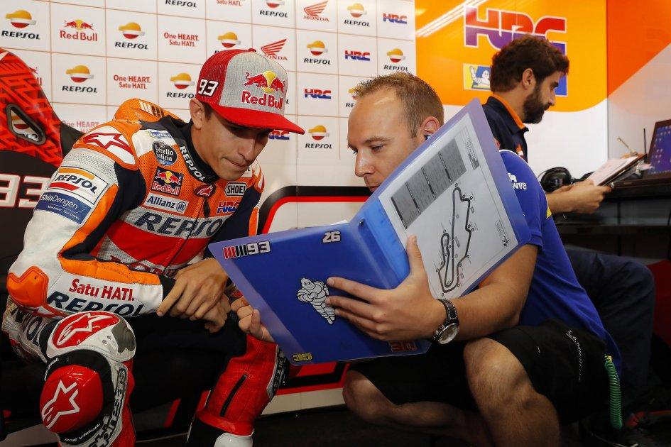 MotoGP: marquez: alla San Donato anche io chiudo il gas