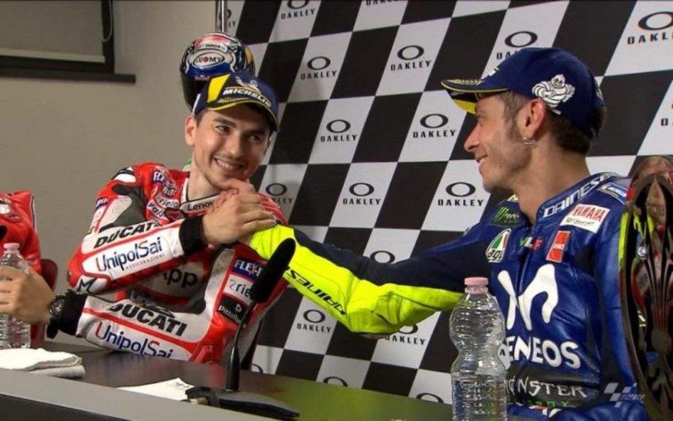 """MotoGP: Rossi: """"Lorenzo in Honda? Sarà dura per tutti"""""""