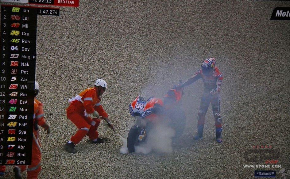 MotoGP: Disastro Ducati, Iannone davanti a Vinales e Marquez