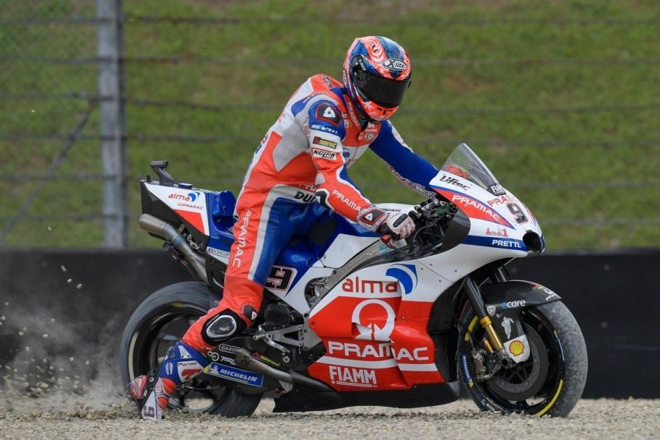 MotoGP: Petrucci: Being back on the podium would be a good idea