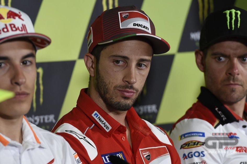 MotoGP: Dovizioso: io e Petrucci più forti di quanto sembri