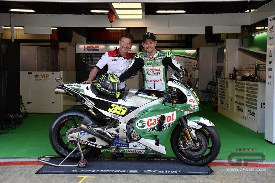 MotoGP: A Barcellona una Honda verde Castrol per Crutchlow