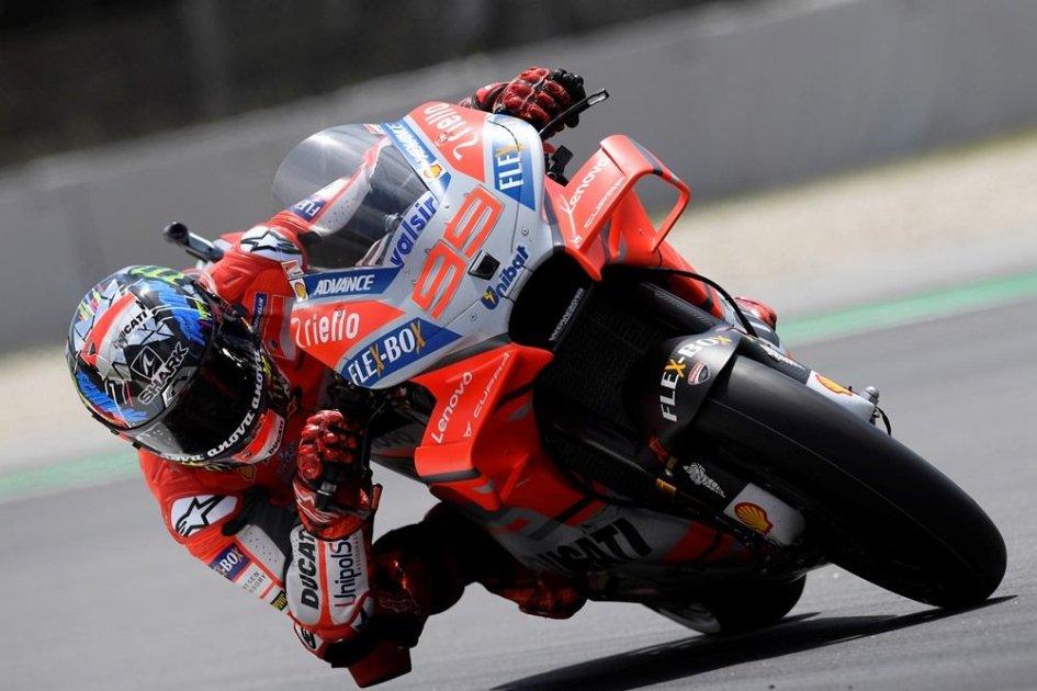 MotoGP: Barcelona: No stopping Lorenzo, Dovizioso in the gravel