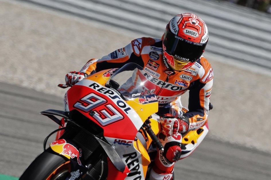 MotoGP: Marquez - Crutchlow, doppietta Honda, 3° Rossi