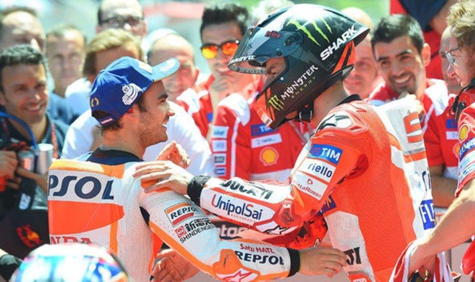 MotoGP: Assen: tra Lorenzo e Pedrosa è sfida a colpi di podio