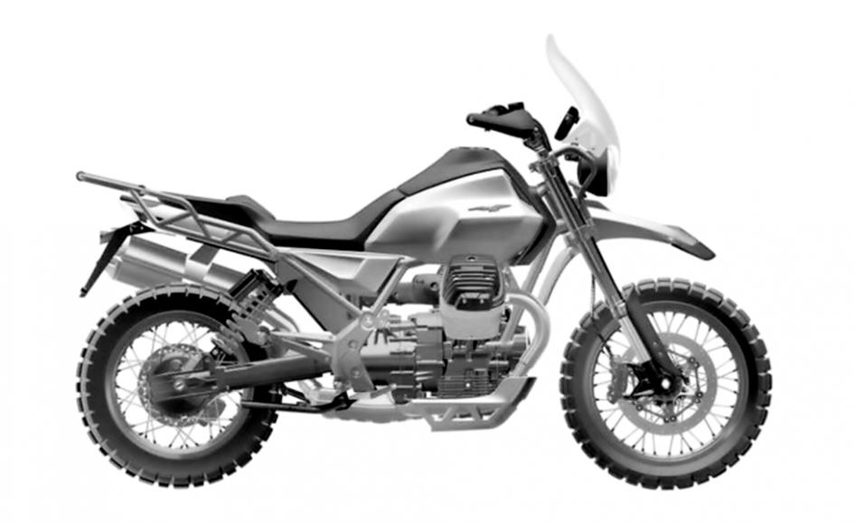 News Prodotto: Moto Guzzi V85: le forme (definitive) della nuova crossover