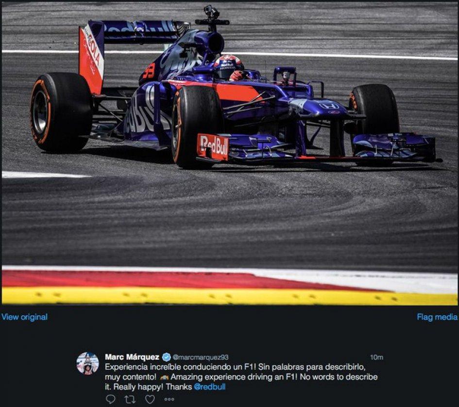 News: Marquez: the F1 has left me speechless