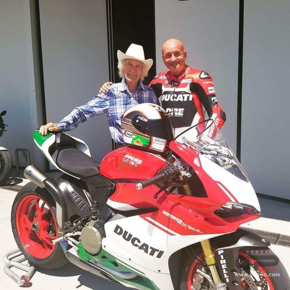 News: Arturo Merzario, from Formula 1 to Ducati, at 75!