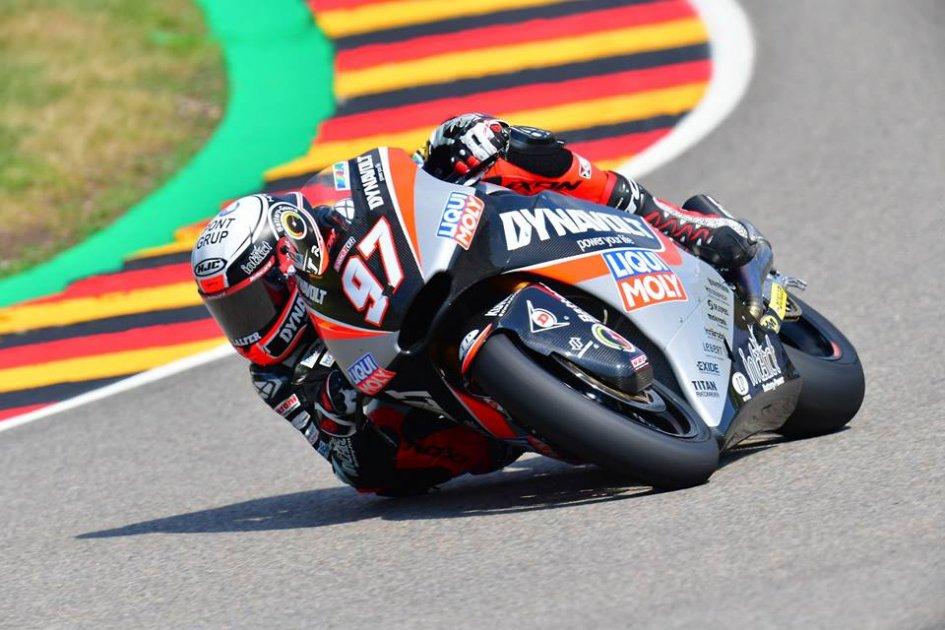 Moto2: FP2: Vierge piega Alex Marquez, 5° Bagnaia