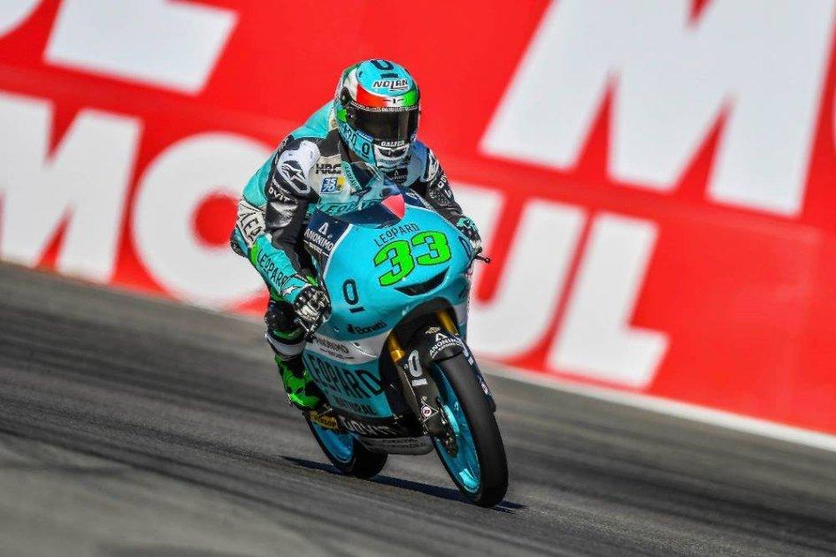 Moto3: WUP: Bastianini piega il poleman Martin, 3° Bezzecchi