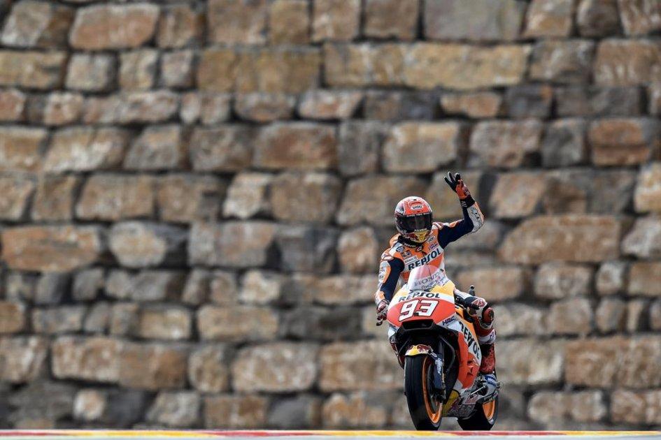 MotoGP: Marquez come Lorenzo e Stoner: una curva dedicata ad Aragon