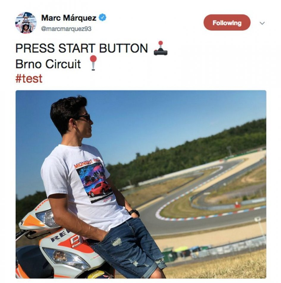 MotoGP: Brno test for Marquez and Pedrosa