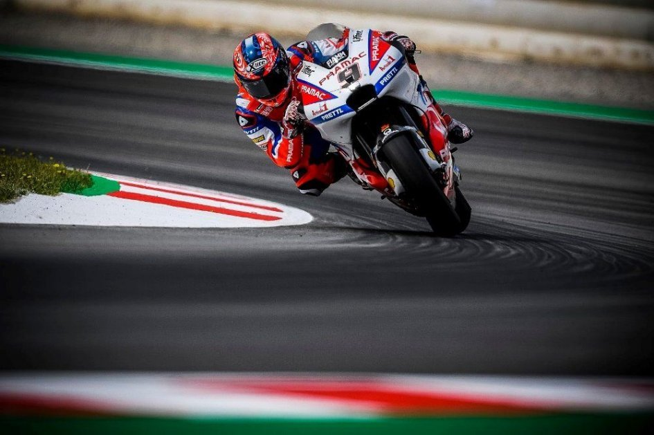 MotoGP: Petrucci: The increase in temperature slowed me down
