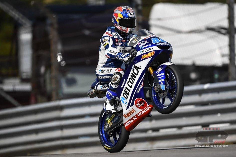 Moto3: Martin non fallisce la caccia alla pole, 3° Bastianini