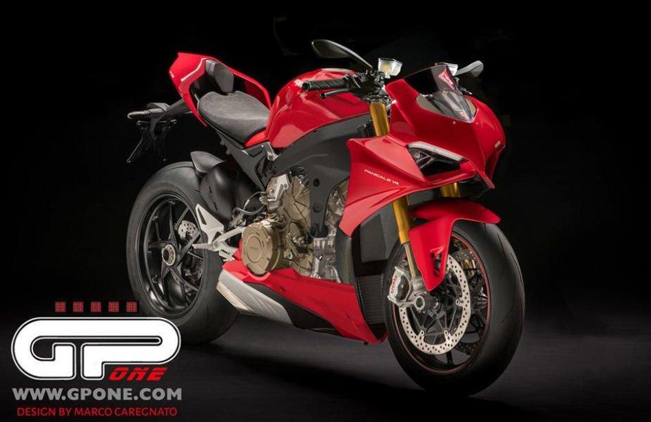 News Prodotto: Ducati: si lavora su una roadster V4 da urlo