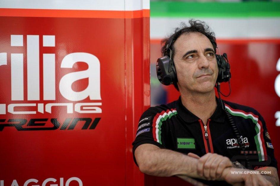 """SBK: Albesiano: """"Aprilia might leave Superbike"""""""