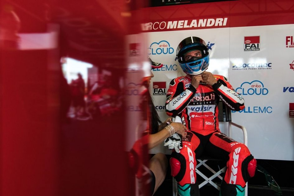 SBK: Melandri: the future? I'd have preferred to test the Ducati V4 first
