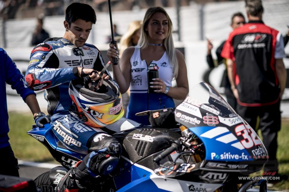 Moto2: Granado and team Forward split, Isaac Vinales arrives