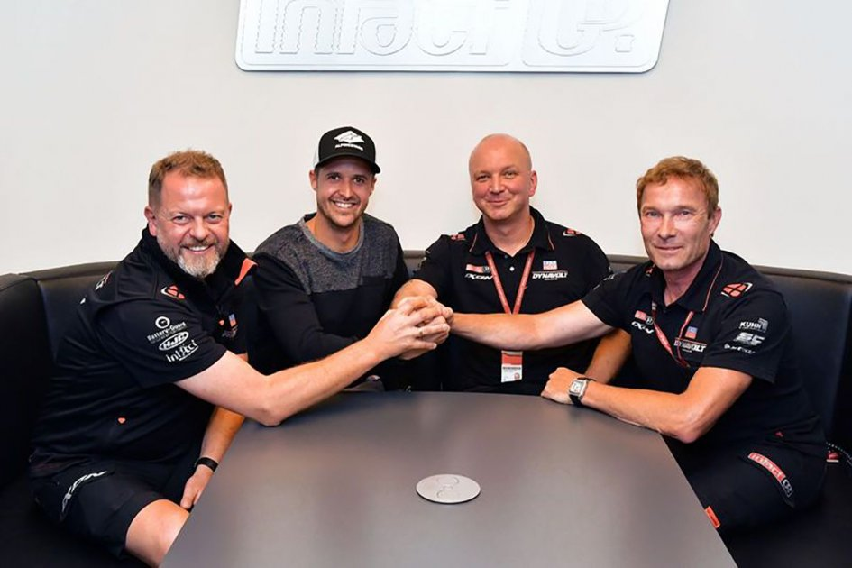 Moto2: Tom Lüthi torna in Moto2 nel 2019 con Dynavolt Intact