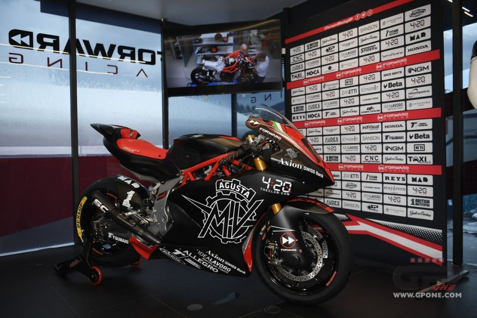 Moto2: The MV Agusta F2 on show at the Red Bull Ring